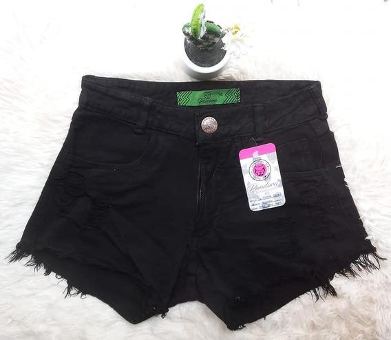 Kit 10 Shorts Jeans Feminina Hot Pant Cintura Alta 34 Ao 44