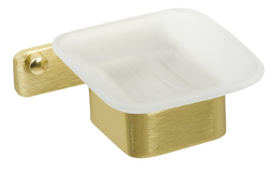 Saboneteira De Parede (miró Dourada)