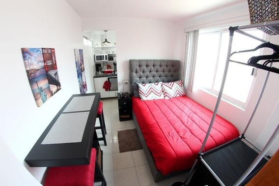Suite Amueblada En Narvarte, Bj