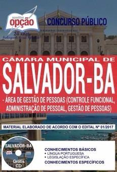 Apostila Câmara Municipal De Salvador 2018 - Área De Gestão