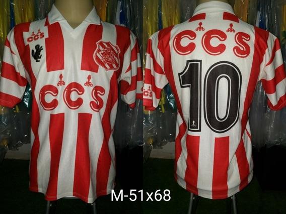 Camisa Bangu Ccs Titular 1993 #10 Vermelha