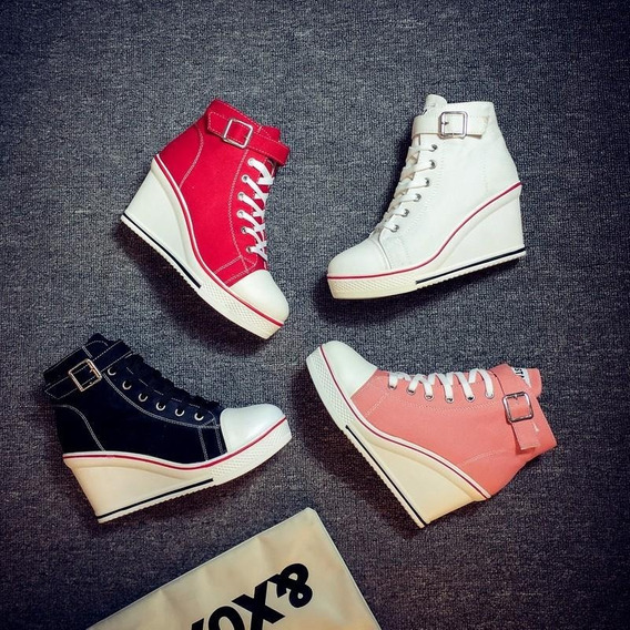 Sneaker Feminino De La Chance 16102 Importado Frete Grátis