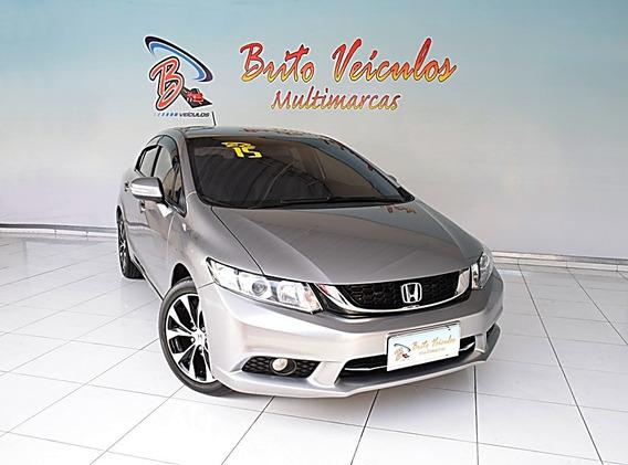 Honda Civic 2.0 Lxr 16v Flex 4p Automático 2015