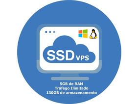 Servidor Vps / 5gb Ram / 130gb Ssd / 3x3.3ghz / Anti-ddos