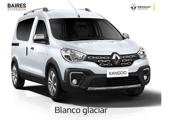 Renault Kangoo Ii Life 0km Blanco Financiado Contado