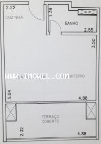 Kitnet Para Venda Em São Paulo, Bela Vista, 1 Dormitório, 1 Banheiro, 1 Vaga - 722_1-713145