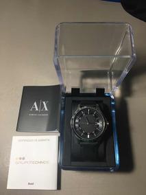 Relógio Armani Exchange - Masculino - Pulseira De Couro