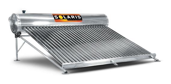 Calentador Solar Solaris 30 Tubos Para 8-9 Personas Acero In