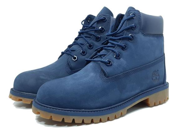 Timberland Botas Waterproof Nuevas Originales 6 Inch Azul