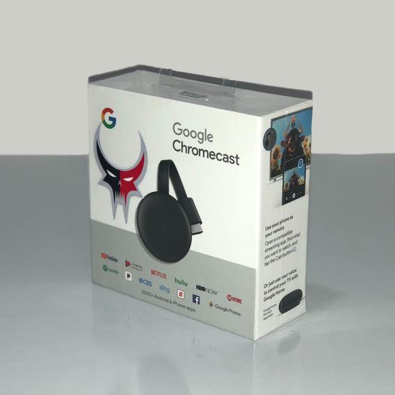 Google Chromecast Darkflix Original - Geração 3