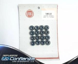 Gomas De Válvula Fiat Palio Siena Motor Fire 1.3l 16v (6mm)