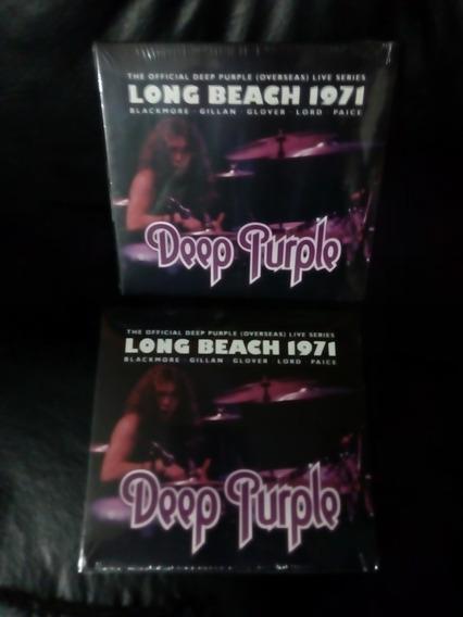 Deep Purple Long Beach 1971 Cd Nuevo Original Sellado