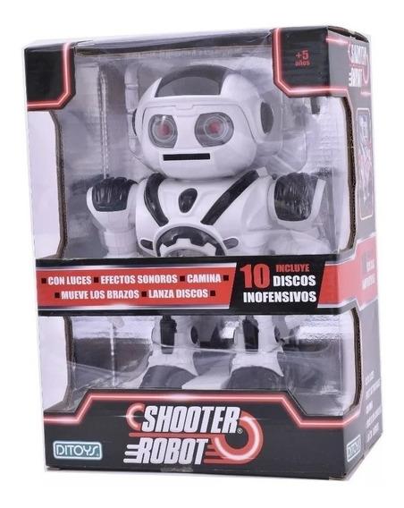 Shooter Robot Interactivo - Ditoys