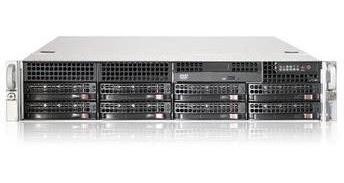 Servidor Supermicro 2x Quadcore 16gb 2x 300gb Sas 8x 3,5