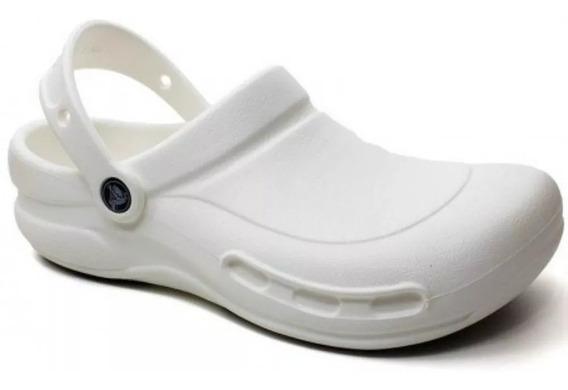Sandália Crocs Bistro Branco Unissex