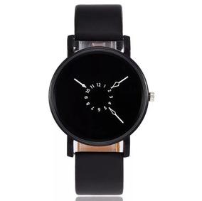Relógio Feminino Quartz Luxo Original Pulseira De Couro