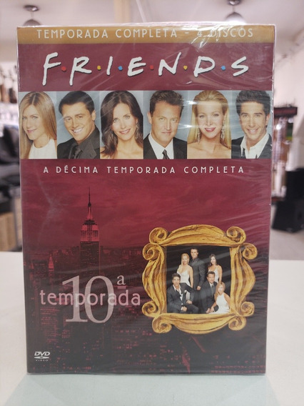 Box Serie Friends 10ª Temporada Orginal Lacrado