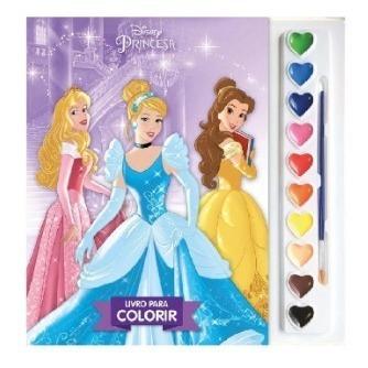 Livro Princesas Aquarela
