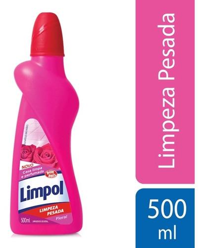 Limpeza Pesada Limpol Floral 500ml