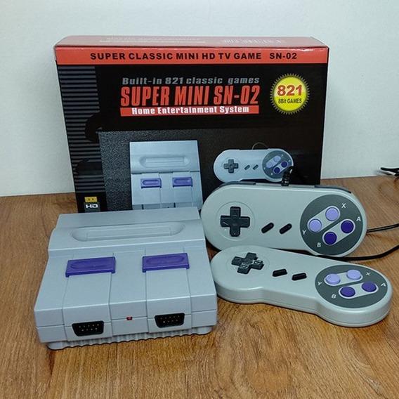 Video Game Retrô 821 Jogos Hd Mini Hdmi 8 Bits Com Defeito!