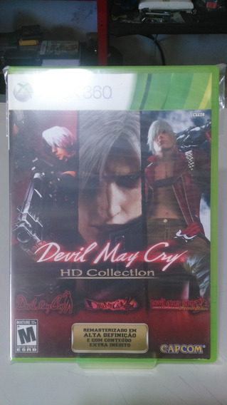 Devil May Cry Hd Collection Xbox 360 Fisica