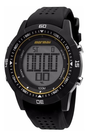 Relógio Mormaii Digital Original Caixa Carbono Nw0851b + Nf