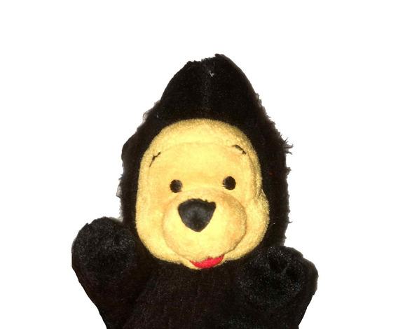 Pelúcia Winnie Pooh Black Bear Urso Pooh Disney Desenho Fofo