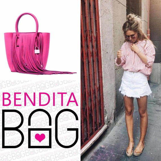 Cartera Neoprene Bendita Bag L Fucsia