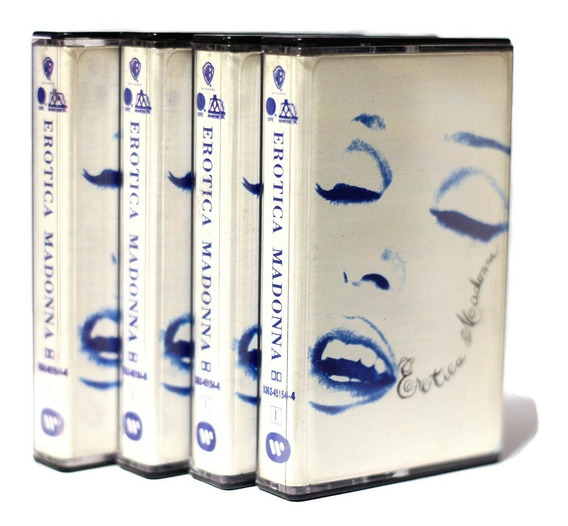 Cassette Madonna Erotica 1992 Ed Nacional Fever // Nuevo !!