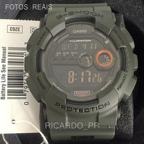 Relógio Casio G-shock Gd-100ms-3dr - 12x S/ Juros + Frete