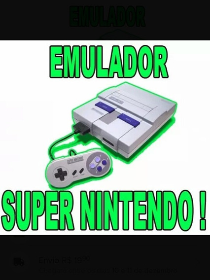 Emulador De Super Nintendo ( Envio Rapido )