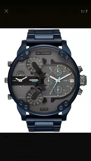 Relógio Masculino Brave Blue Frete Grátis Envio Imediato
