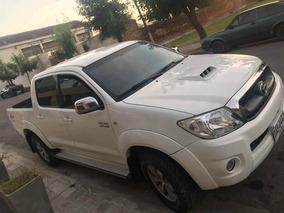 Toyota Hilux 3.0 Tdi Srv Cab Doble 4x2 Cuero 2009