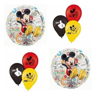 Kit Baloes Metalizados Mickey - Bexigas Mickey 27 Unidades