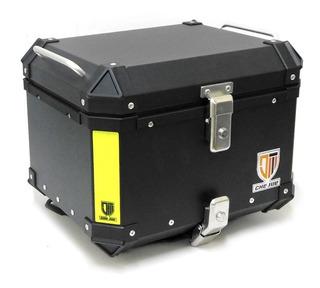 Top Case Lujo Negra Para Motocicleta 45 Litros 41.2*30.5*22.