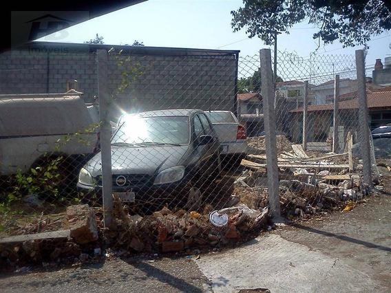 Terreno Comercial Para Locação, Jardim Das Flores, Osasco. - Te0056