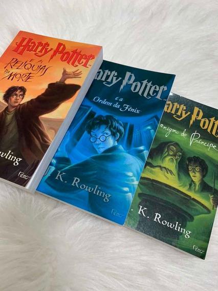 Combo Harry Potter Coleção Rowling - 3 Livros