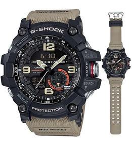 Relogio Casio G-shock Gg1000-1a5 Mudmaster Pulseira Bege