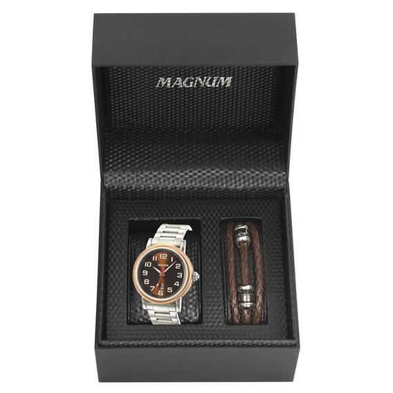 Kit Relógio Magnum Masculino - Ma21946c
