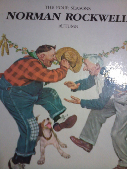 Livro - Infanto Juvenil - The Four Seasons - Norman Rockwell