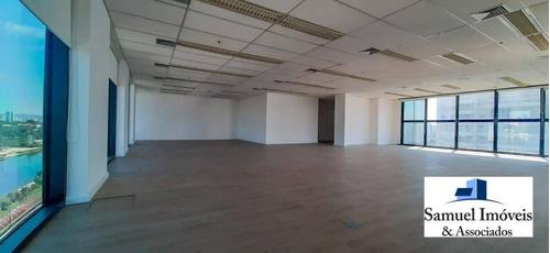 Conjunto Para Alugar, 255 M² Por R$ 11.000,00/mês - Brooklin - São Paulo/sp - Cj0100