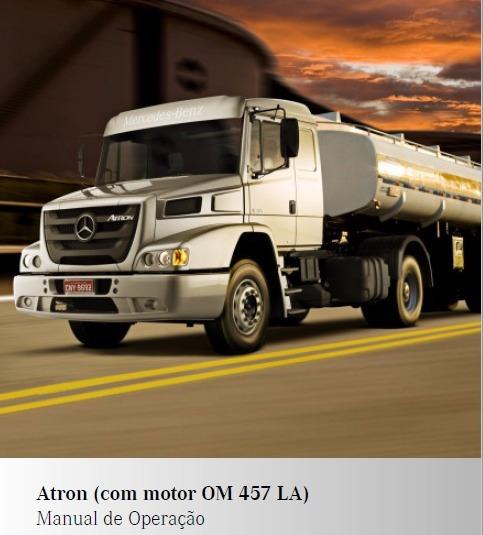 Manual De Operação Caminhão Atron 1635
