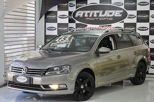 Volkswagen Passat Variant 2.0 Tsi 16v 211cv 2015 Marrom