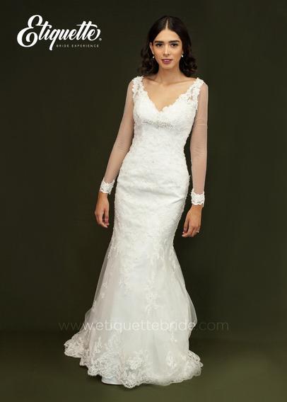 Vestido De Novia Economico Elegante Hermoso Bonito Boda