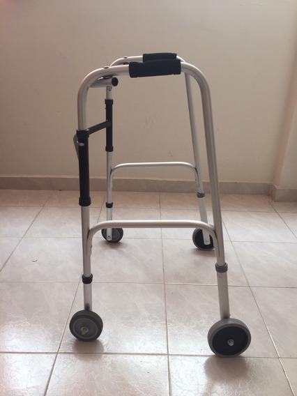 Andadera Ortopédica De Aluminio Con Ruedas