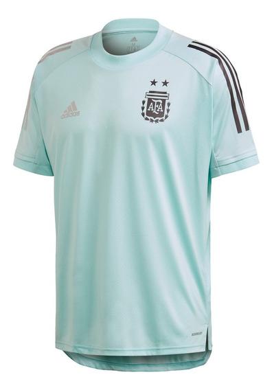 Camiseta adidas Entrenamiento Argentina Cel De Hombre