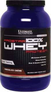 100% Whey Prostar 900g - Ultimate Nutrition - Importado Usa