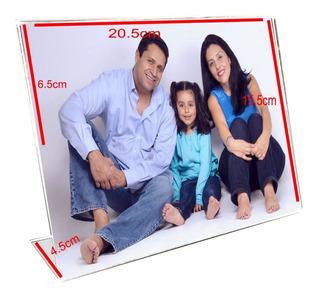 Porta Retratos De Acrílico 3mm Tamaño 6 X 8