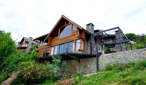 Residencias Normandas. Cabañas Lodge Carlos Paz. Vista Lago