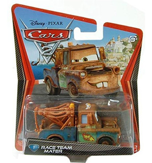 Cars 2 - Mate - Original Mattel - Metal 1:55!!!